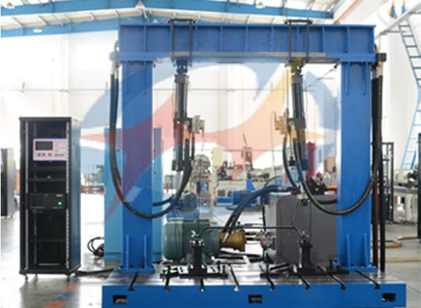 横向稳定杆疲劳试验机结构特点
